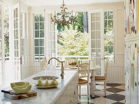 Kitchen Designs  White Cabinets on Kitchen White Sa