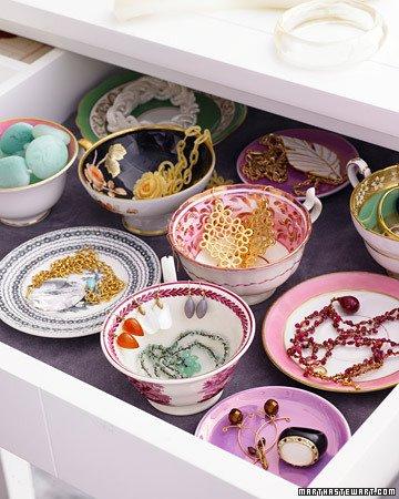 Teacup jewelry