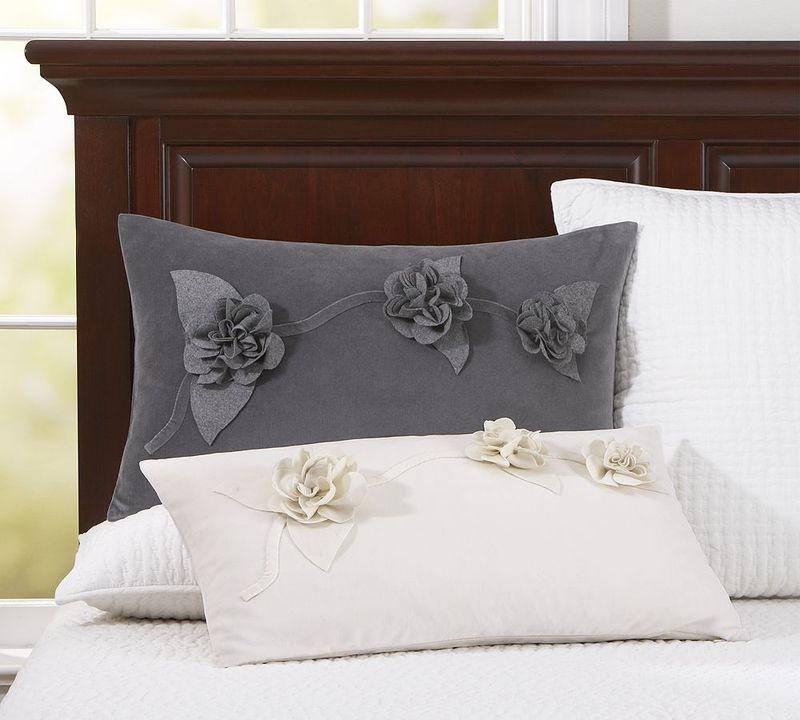 Pottery barn lumbar pillow