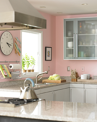 Pink kitchen point click home