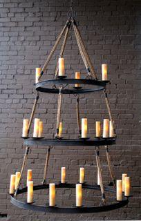 Solaria chandelier