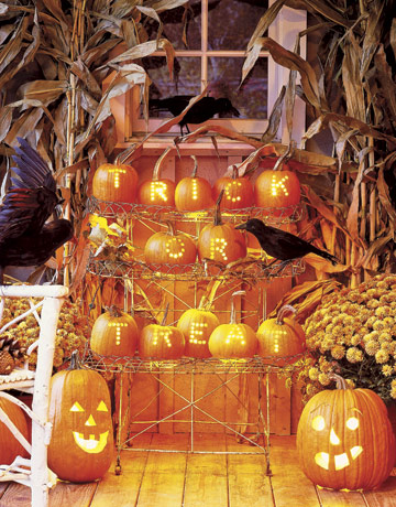 Country living pumpkins