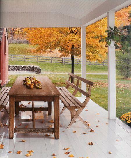 Veranda fall
