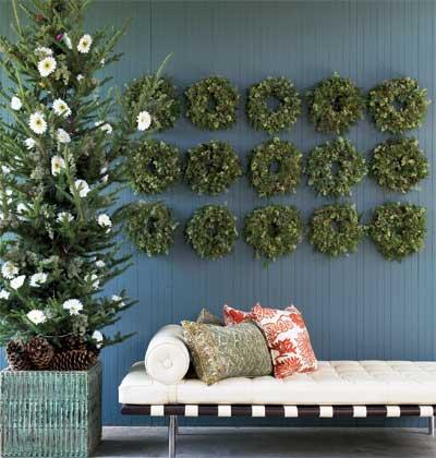 Grid of wreaths
