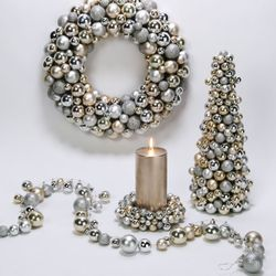 Z gallerie wreath silver