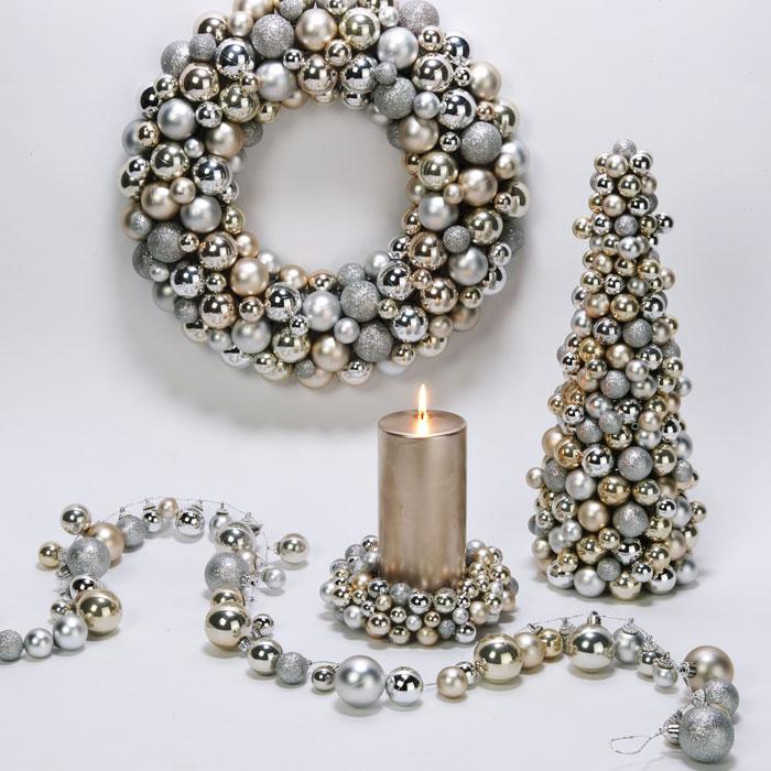 Z gallerie wreath silver