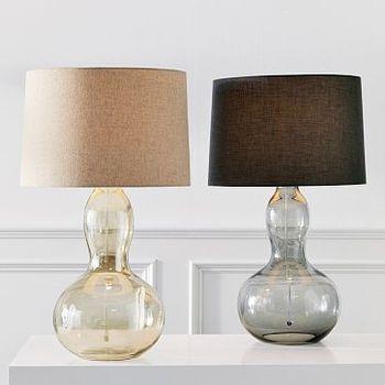 West elm gourd lamp