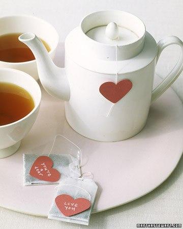 Martha tea bags