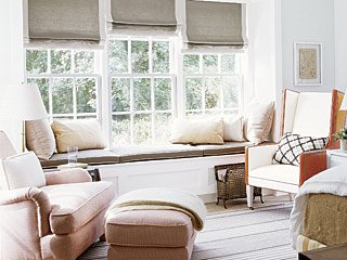 Cottage living window seat