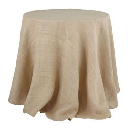 Wisteria burlap table cloth