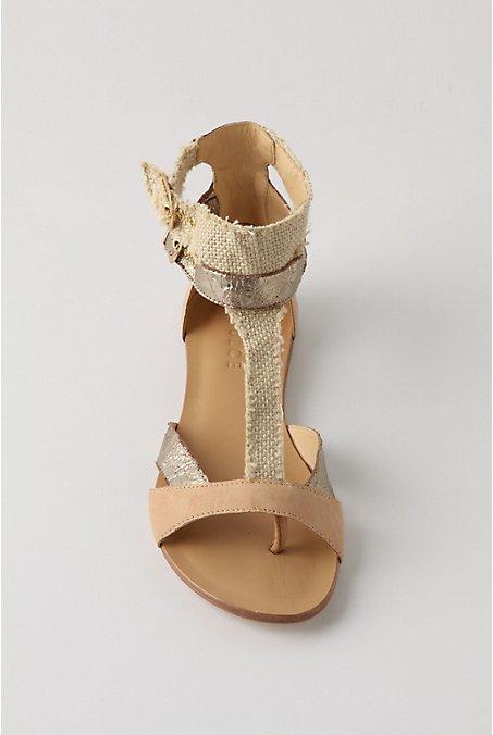 Burlap shoe