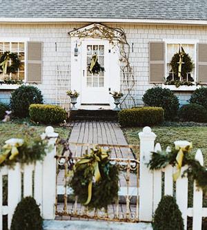 Christmas white bhg