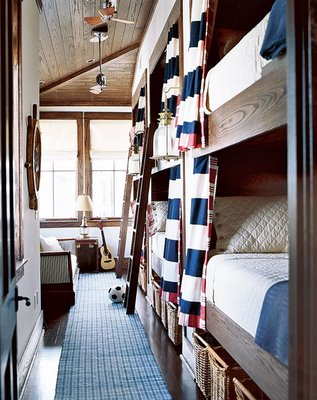Bunk room via swish and swanky