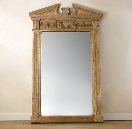 Entablature-mirror